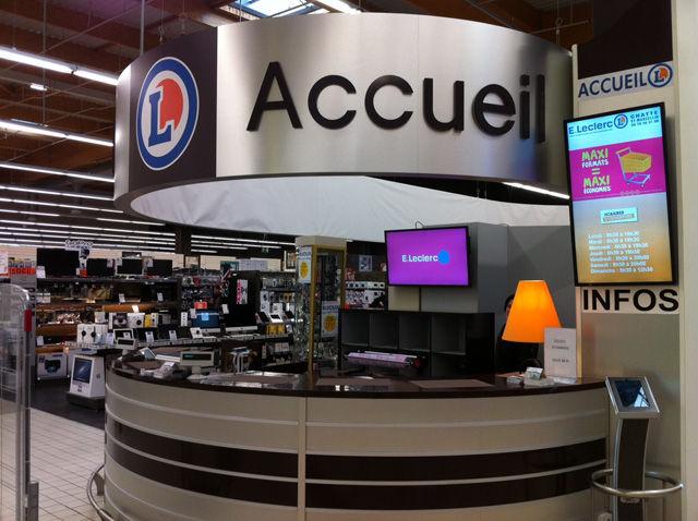 Centre E. Leclerc et sa galerie Marchande à Chatte - St-Marcellin
