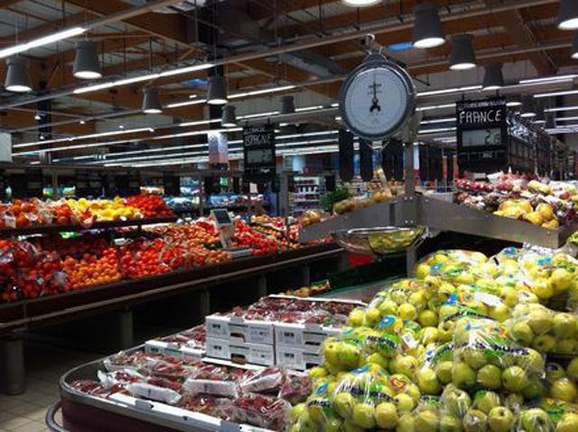 Rayon Fruits et Légume Centre E. Leclerc Chatte St Marcellin