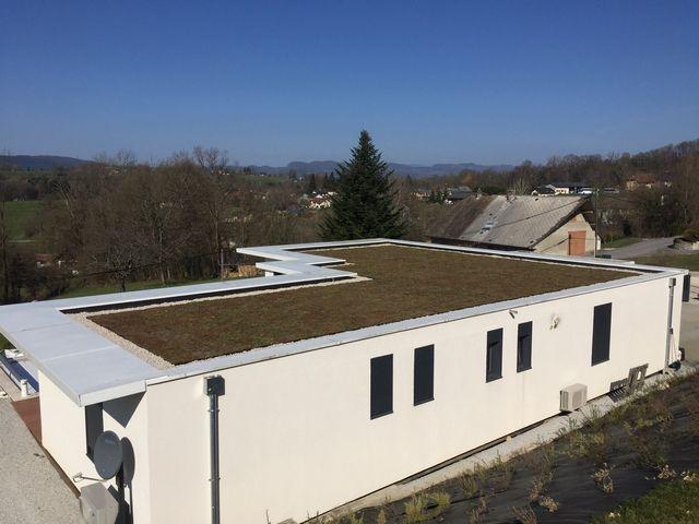 Toit végétal Pays de Gex, dans l'Ain (01) et sur toute la région Rhône-Alpes