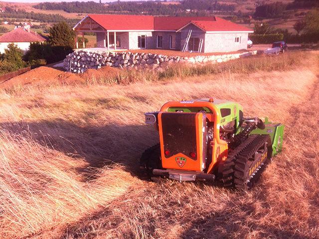 Nettoyage Terrain encombré Vinay