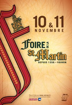 Foire de la St-Martin 2018 à Voiron