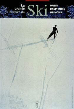 """Expo """"La Grande Histoire du Ski"""" au Musée Dauphinois de Grenoble"""