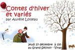 Contes d'hiver et variés, spectacle de contes au Grand Séchoir