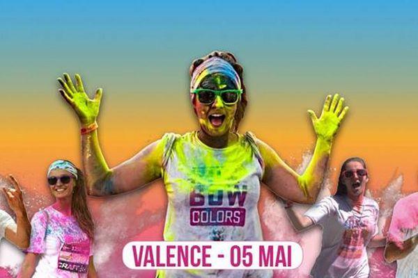 Run'Bow Color 2019 à Valence