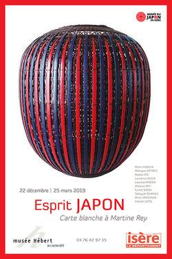 """Expo """"Esprit Japon"""" au Musée Hébert de La Tronche"""