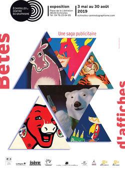 """Expo """"Bêtes d'Affiches. Une saga publicitaire"""" à Échirolles"""