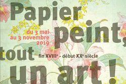 """Expo """"Papier peint, tout un art !"""" à la Maison Bergès"""