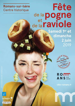 Fête de la Pogne et de la raviole 2019 à Romans-sur-Isère
