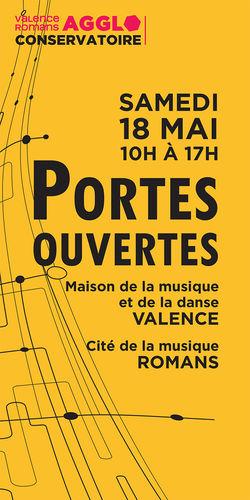 Valence Romans Agglo : Portes ouvertes au Conservatoire