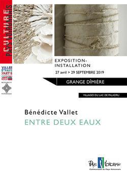 """""""Entre deux Eaux"""" par Bénédice Vallet à La Grange Dîmière"""