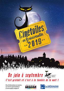 Festival Cinétoiles 2019 dans le Grésivaudan