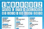Embarquez pour un été d'animations à Valence !