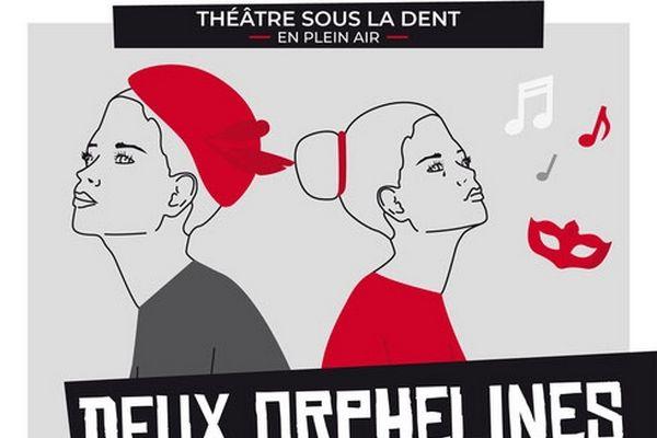 Deux Orphelines, théâtre en plein air à Crolles
