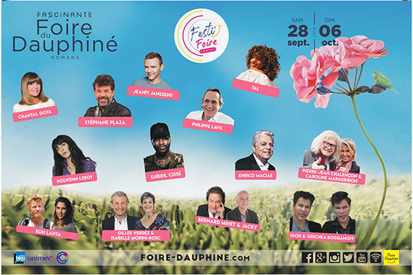 Festi'Foire Romans : l'événement festif de la Foire du Dauphiné
