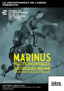 """Expo """"Marinus"""" au Musée de la Résistance de Grenoble"""