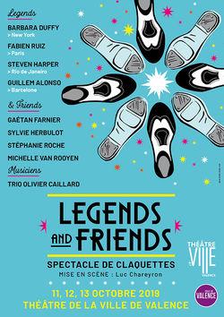Legends and Friends : spectacle de claquettes à Valence