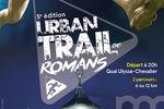 5e édition de l'Urban Trail de Romans, course nocturne