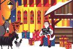 Noël des Lumières 2019 à St-Antoine-l'Abbaye