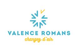 Évolution du logo Valence Romans Tourisme