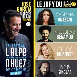 Le Jury du 23e Festival de l'Alpe d'Huez 2020