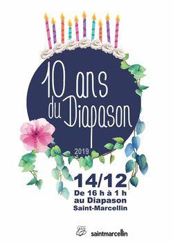 Le Diapason de St-Marcellin fête ses 10 ans !