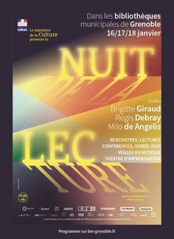 La Nuit de la lecture dans les bibliothèques de Grenoble