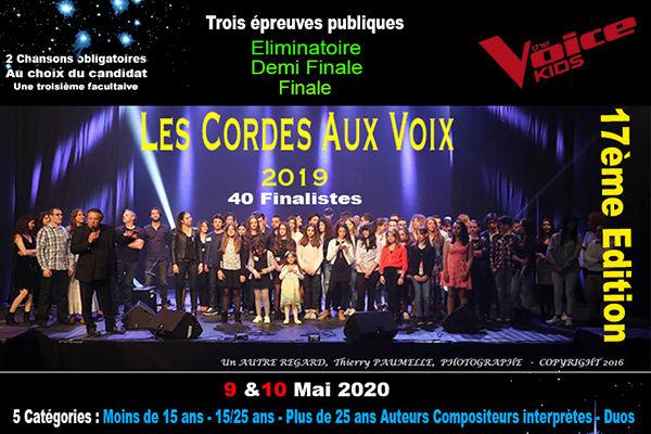 """Concours de chant """"Cordes aux Voix"""" à Villard-Bonnot"""