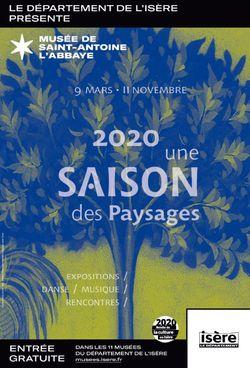 Nouvelle saison au musée ! 2020 une saison des Paysages