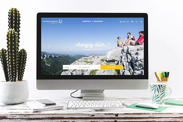 Nouveau site internet Valence Romans Tourisme
