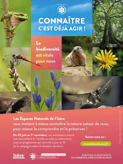 """""""Connaitre, c'est déjà agir"""" sensibilisation à la biodiversité"""