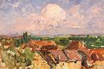 """Expo """"Paysages Croisés, François Auguste Ravier / Jean Vinay"""""""