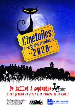 Festival Cinétoiles 2020 dans le Grésivaudan