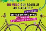 Voironnais : Collecte de vélos et pièces détachées en déchèteries