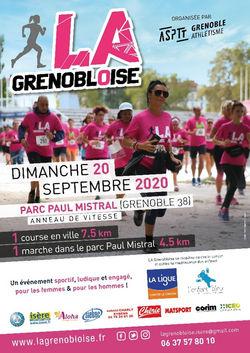 LA Grenobloise 2020 - Une rentrée toujours sportive et solidaire