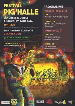 Festival Pig'Halle 2020 à St-Antoine-l'Abbaye