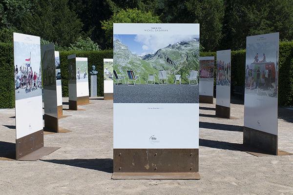 """Expo """"Tour de Fête"""" de Michel Gasarian au Domaine de Vizille"""
