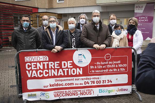 Les Centres de vaccination du Département de l'Isère sont ouverts