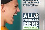 Allo Familles Isère, dispositif d'écoute et de conseils