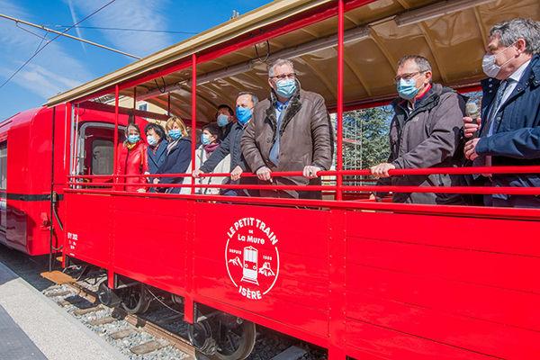 Le Petit Train de La Mure : Bienvenue à bord en juin 2021 !