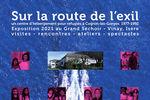 """Expo """"Sur la route de l'exil"""" au Grand Séchoir de Vinay"""