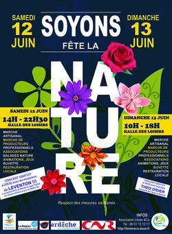 Soyons fête la nature 2021, week-end éco-environnemental