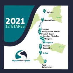 Valence accueille Odyssée Rhône green, road trip éco-responsable