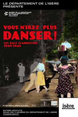 """Expo """"Vous n'irez plus danser"""" au Musée de la Résistance"""