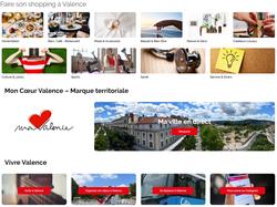 Mon coeur Valence, nouvelle version du site web d'achat local