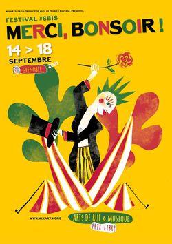 Merci, bonsoir ! Festival spectacle vivant et musique à Grenoble