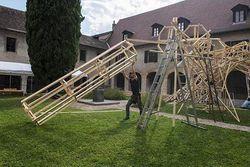 Écorcé, Résidence de Simon Augade au Musée Dauphinois