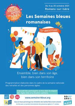 Les semaines bleues romanaises à Romans-sur-Isère